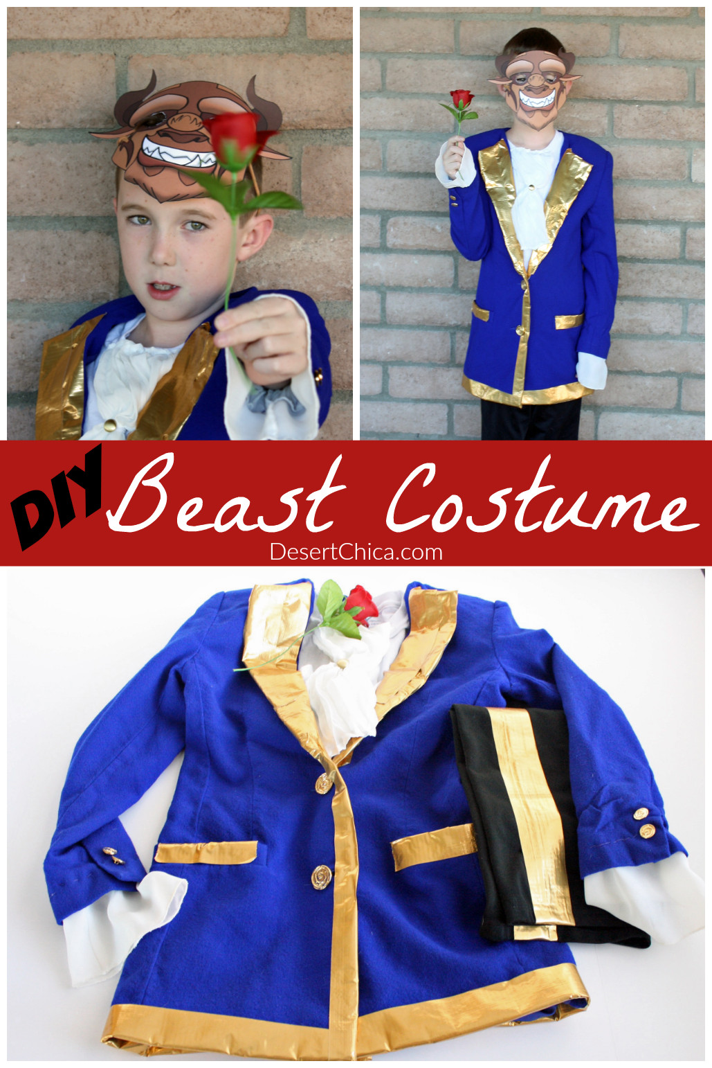 Best ideas about DIY Beauty And The Beast Costume . Save or Pin DIY Beast Costume Now.