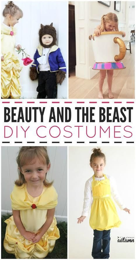 Best ideas about DIY Beauty And The Beast Costume . Save or Pin Beauty and the Beast DIY Costumes BeautyandtheBeast Now.