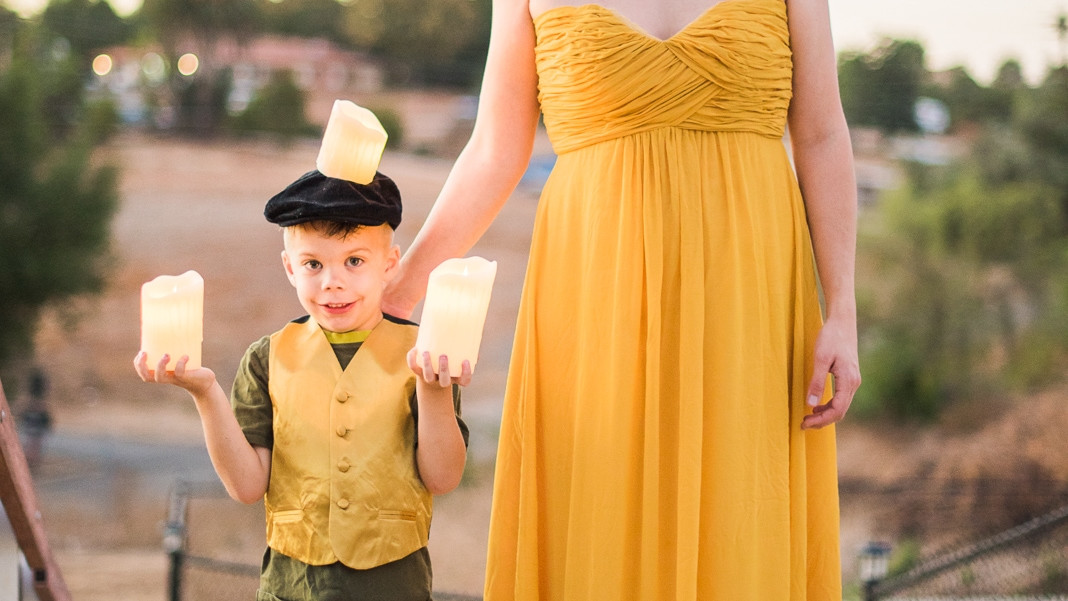 Best ideas about DIY Beauty And The Beast Costume . Save or Pin DIY Beauty and the Beast Family Costumes Someday I ll Learn Now.