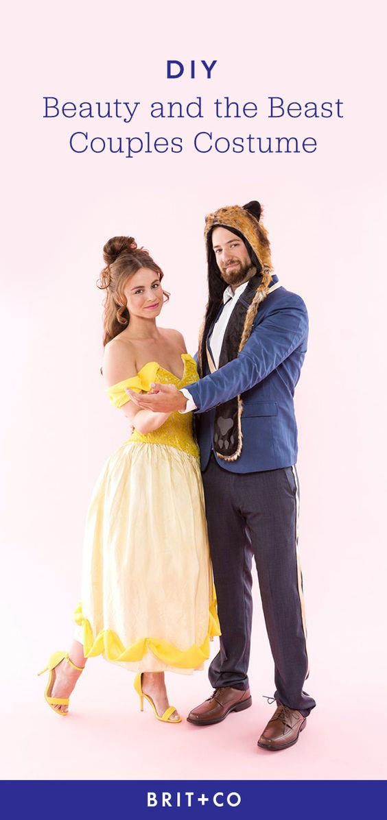 Best ideas about DIY Beauty And The Beast Costume . Save or Pin Wear This Beauty and the Beast Couples Costume for an Now.