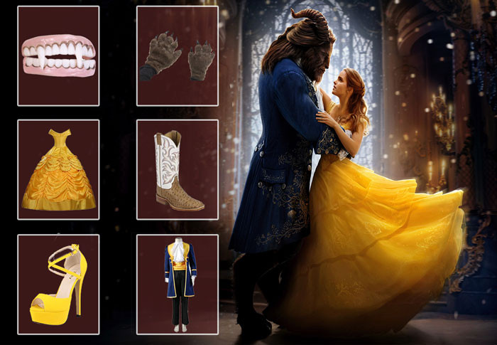 Best ideas about DIY Beauty And The Beast Costume . Save or Pin Beauty and The Beast Costumes Now.
