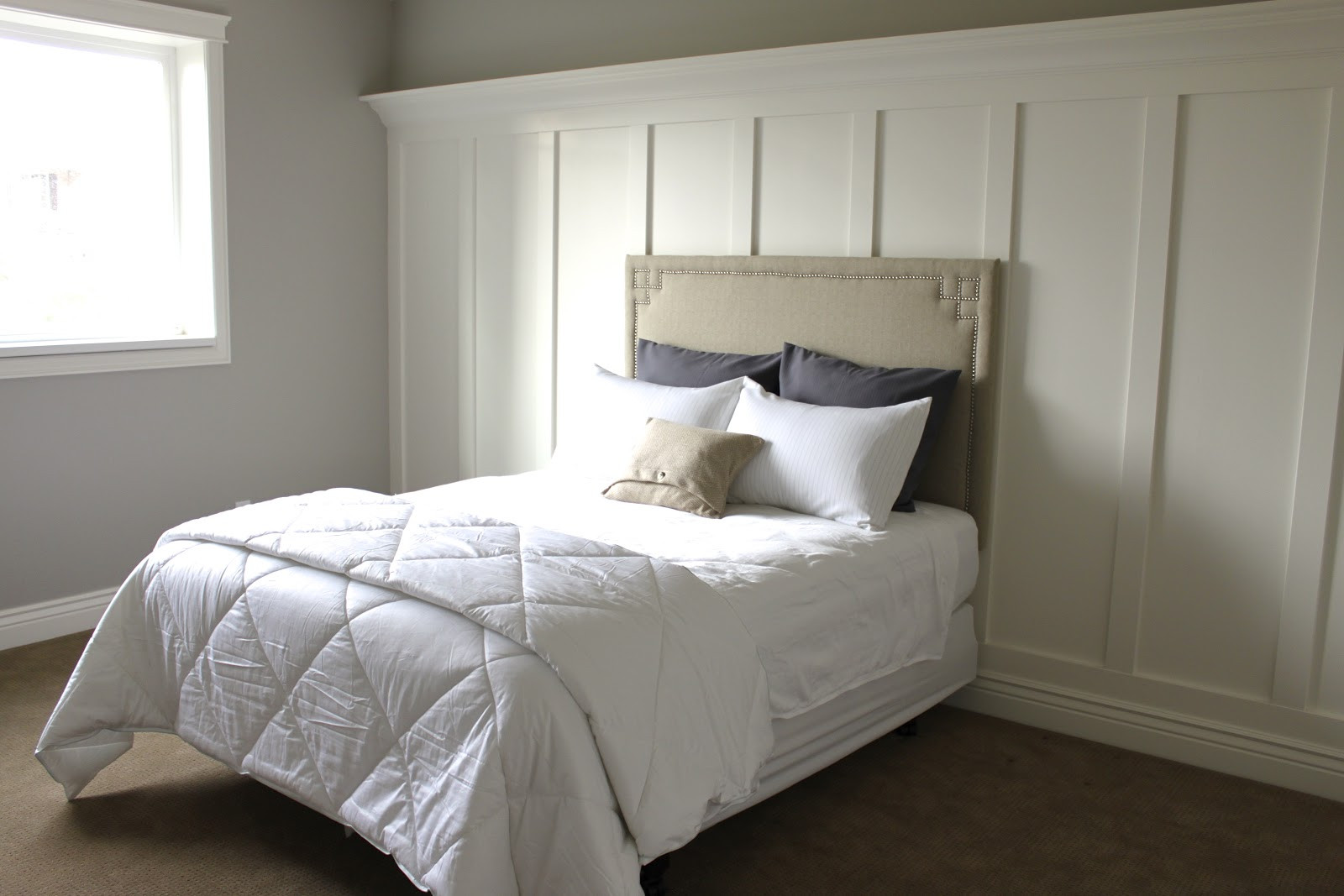 Best ideas about DIY Bed Headboards . Save or Pin Amy s Casablanca DIY headboard Now.
