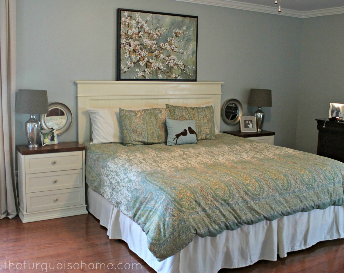 Best ideas about DIY Bed Headboards . Save or Pin DIY Headboard master bedroom update Now.