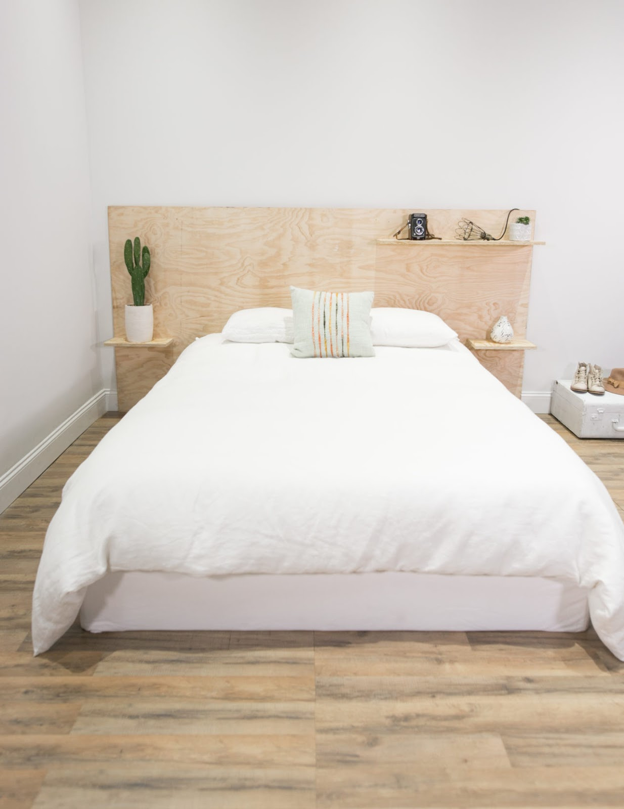 Best ideas about DIY Bed Headboards . Save or Pin 8 Plywood Headboard Bed DIY Ideas Now.
