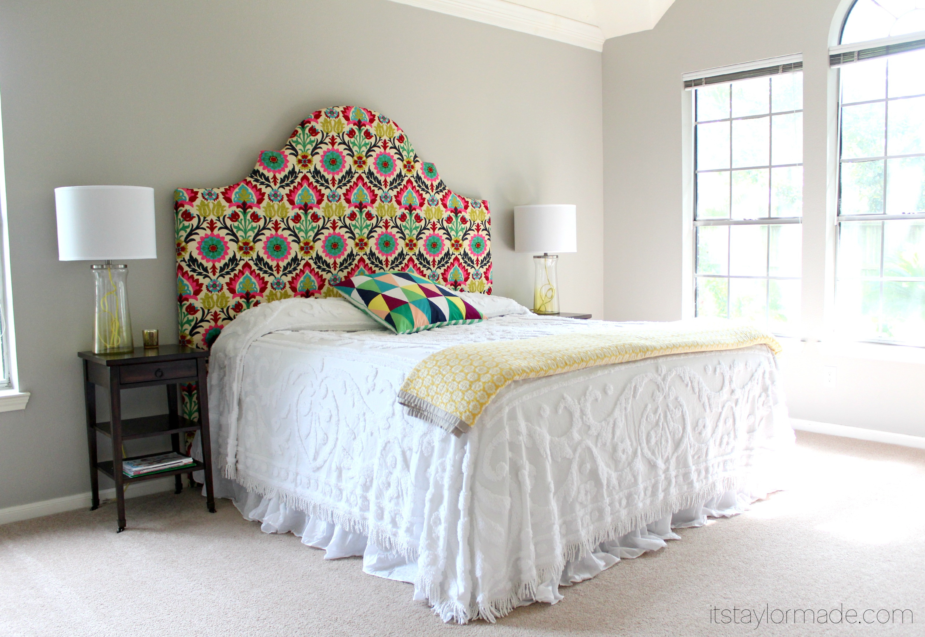 Best ideas about DIY Bed Headboards . Save or Pin DIY Headboard TaylorMade Now.