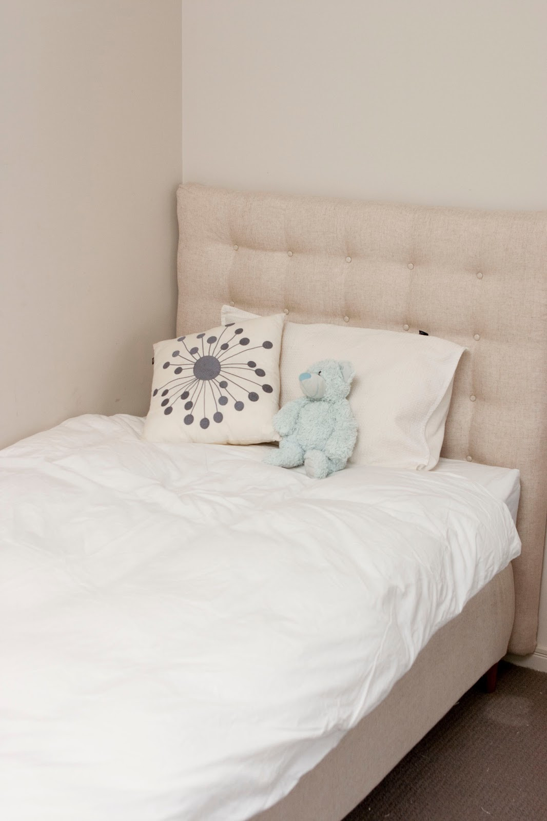 Best ideas about DIY Bed Headboards . Save or Pin Max & Me DIY Headboard and Bed Make Over Now.