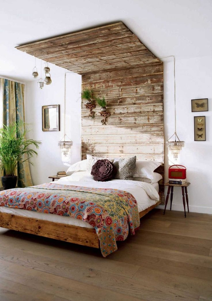 Best ideas about DIY Bed Ideas . Save or Pin Thinking Creative for your Homemade Headboards Wooden Now.