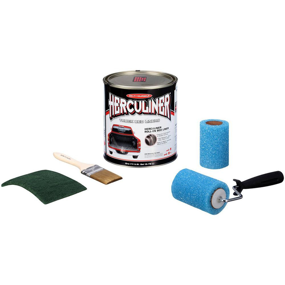 Best ideas about DIY Bed Liner Kit . Save or Pin Herculiner Truck Bed Liner Kit HCL0B8 The Home Depot Now.