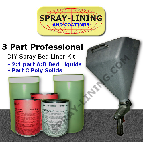 Best ideas about DIY Bed Liner Kit . Save or Pin SPRAY ON BLACK TRUCK BED LINER KIT 1 BED WITH GUN Now.