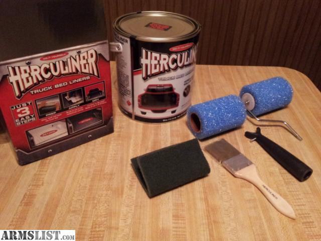 Best ideas about DIY Bed Liner Kit . Save or Pin ARMSLIST For Sale Herculiner DIY Bed Liner Kit Now.