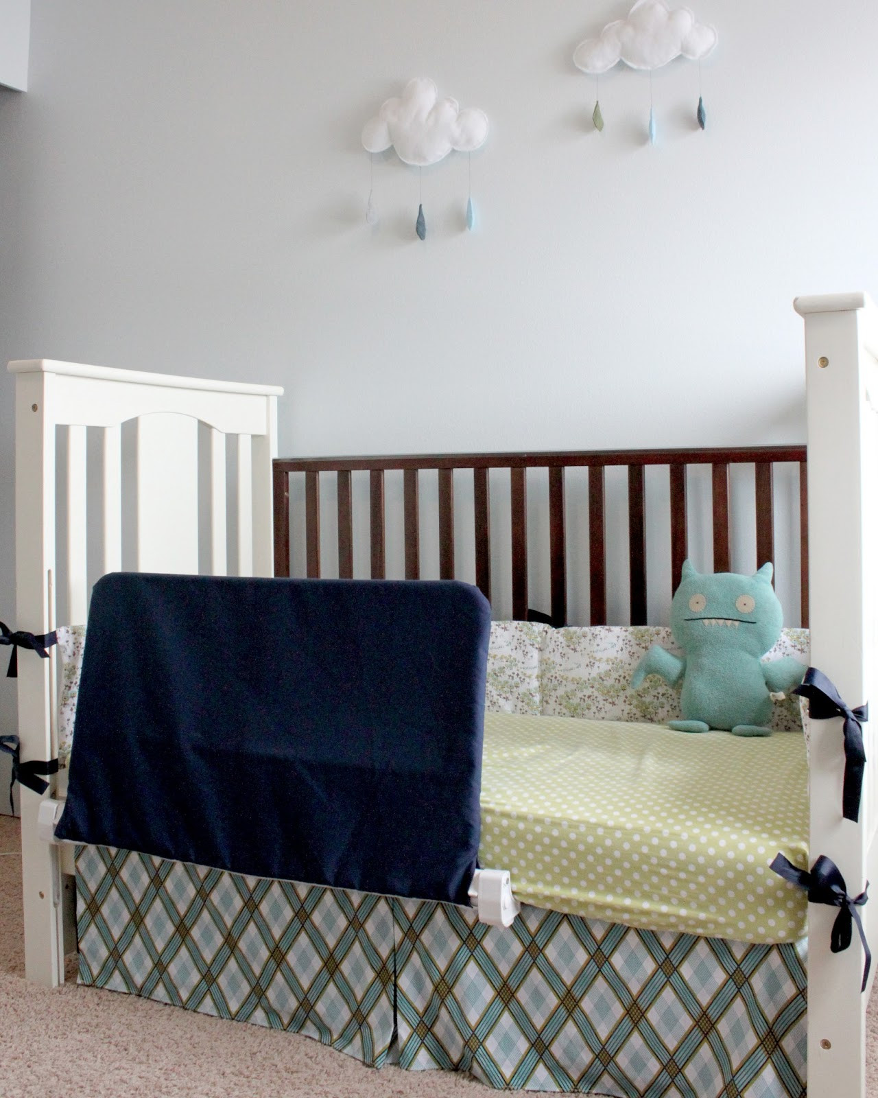Best ideas about DIY Bed Rail . Save or Pin creatively christy Improvising DIY Bed Rail Cover Now.
