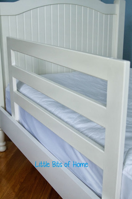 Best ideas about DIY Bed Rails . Save or Pin Baby Bottles to Battleships Nursery to Big Boy Room Now.