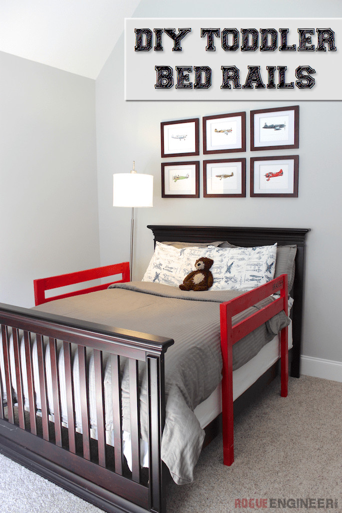 Best ideas about DIY Bed Rails . Save or Pin DIY Toddler Bed Rail Free Plans Now.
