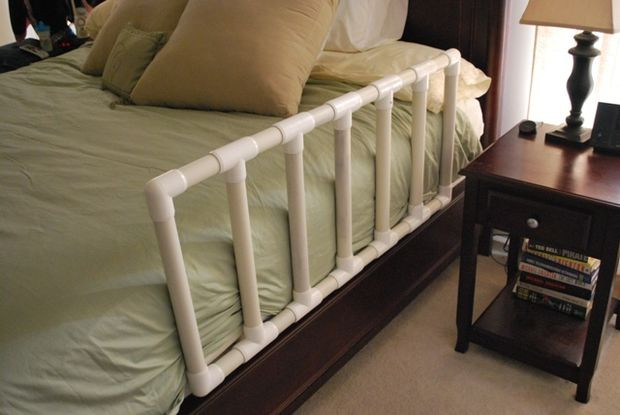 Best ideas about DIY Bed Rails . Save or Pin How to make a Toddler Bed Guard Now.