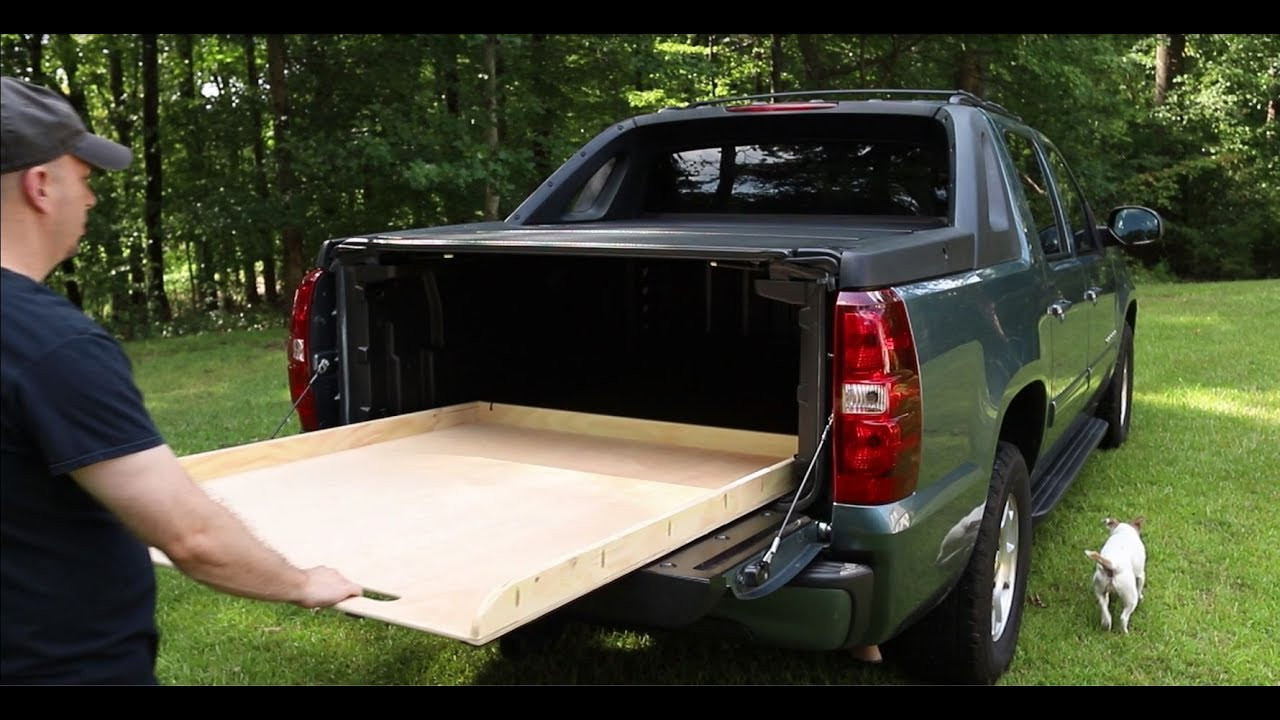 Best ideas about DIY Bed Slide . Save or Pin The Simplest DIY Truck Bed Slide for Chevy Avalanche Now.