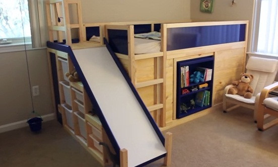 Best ideas about DIY Bed Slide . Save or Pin 25 DIY Bunk Beds with Plans Now.