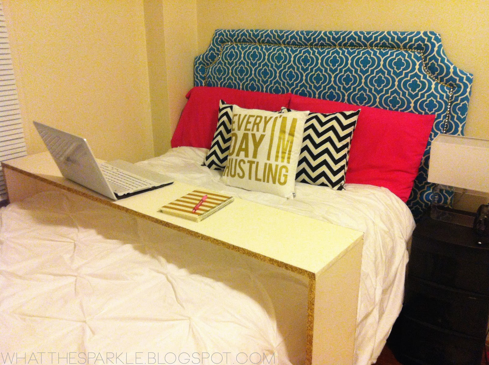 Best ideas about DIY Bed Table . Save or Pin Kelly Moran Now.