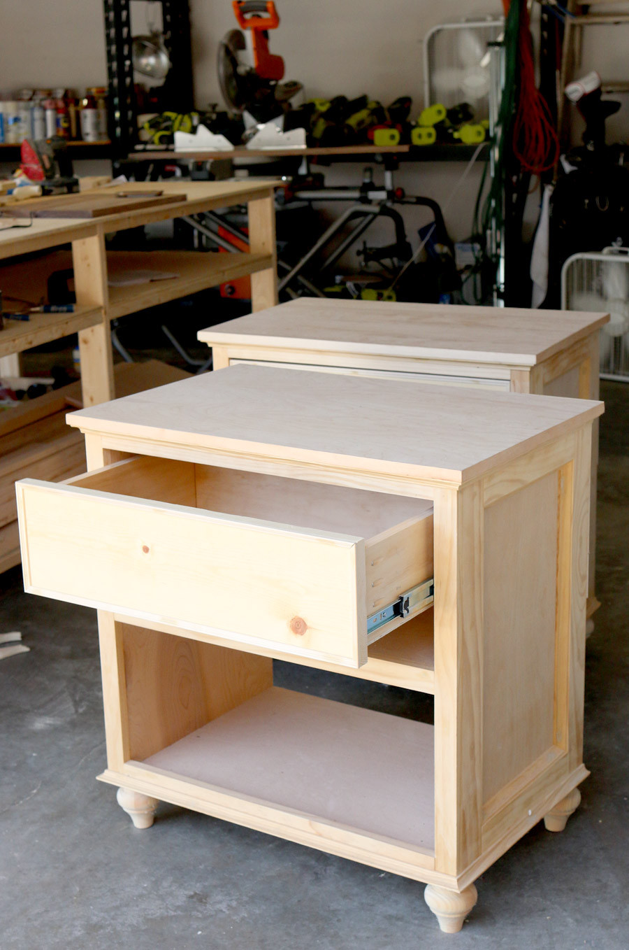 Best ideas about DIY Bed Table . Save or Pin How To Build DIY Nightstand Bedside Tables Now.