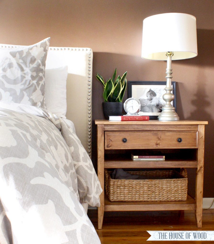 Best ideas about DIY Bed Table . Save or Pin DIY Bedside Table Nightstand Now.