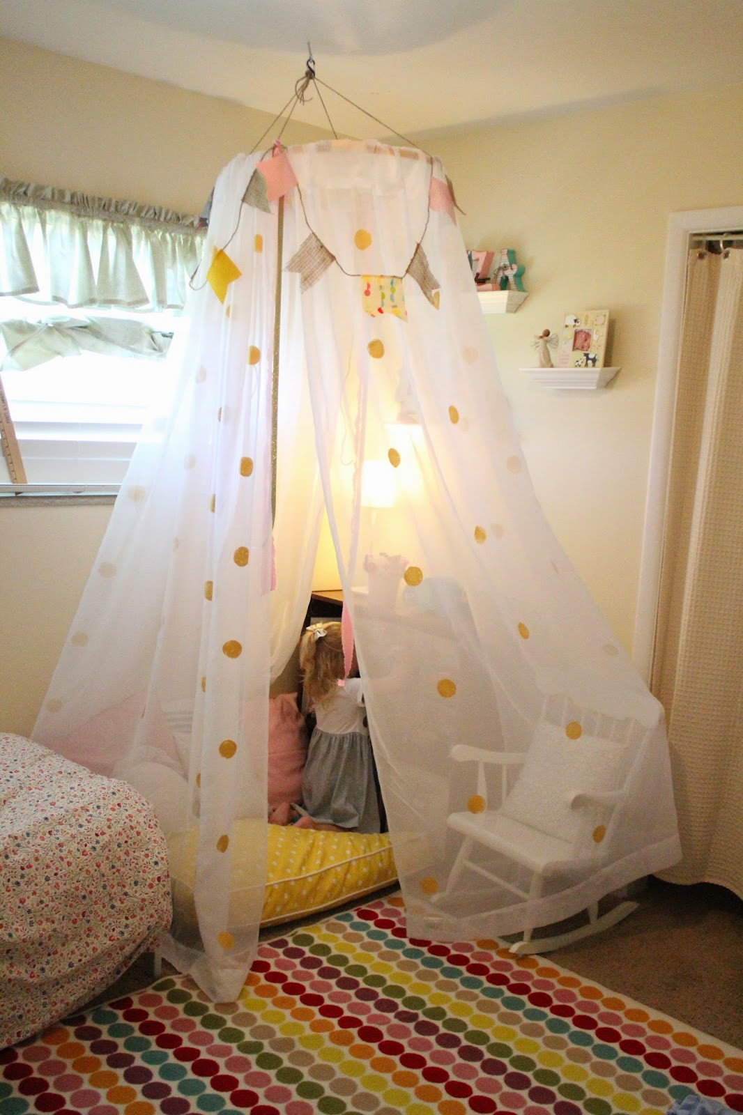 Best ideas about DIY Bed Tents . Save or Pin Mommy Vignettes DIY No Sew Tent Canopy Tutorial Now.