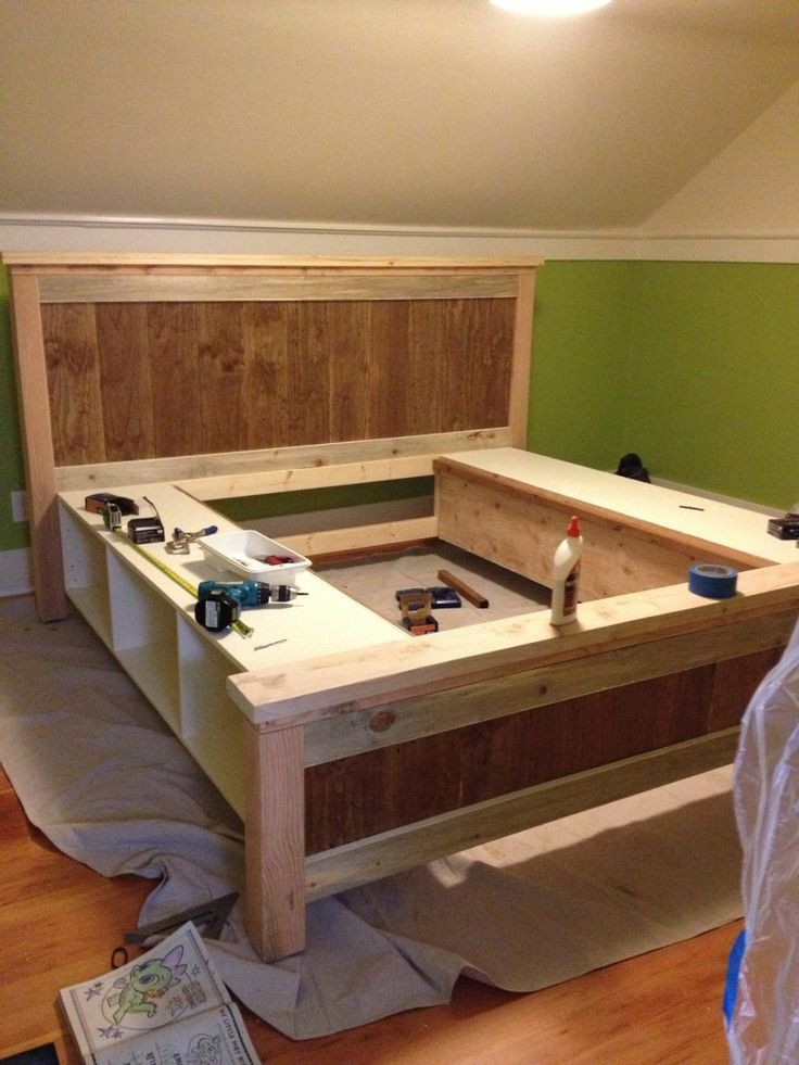 Best ideas about DIY Bed With Drawers . Save or Pin Bed Frame Plans Drawers WoodWorking Projects & Plans Now.
