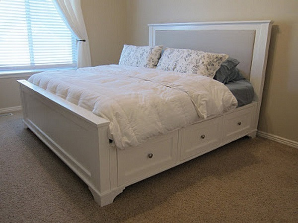 Best ideas about DIY Bed With Drawers . Save or Pin 10 DIY Storage Bed Ideas Now.