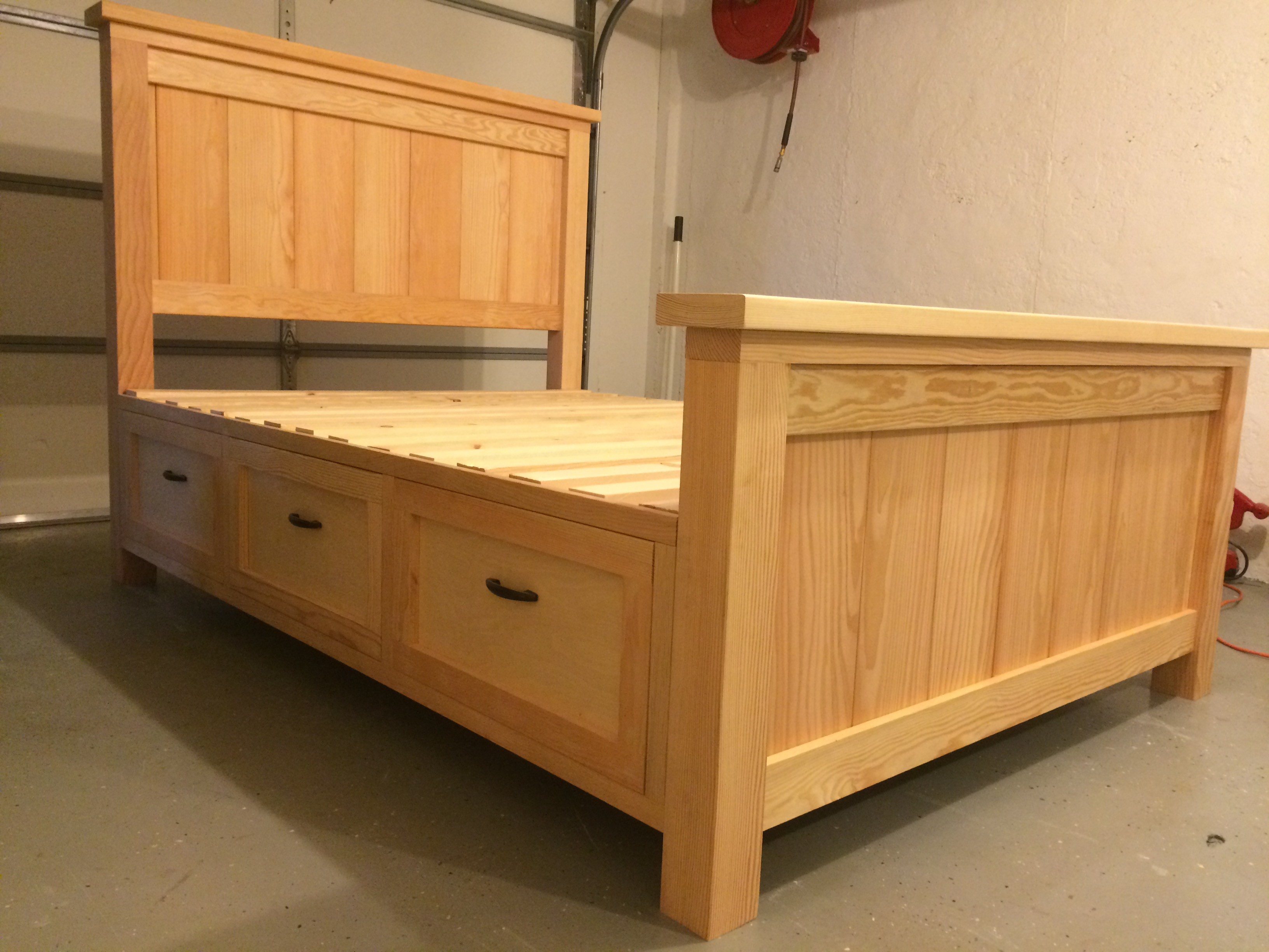 Best ideas about DIY Bed With Drawers . Save or Pin Ana White Now.