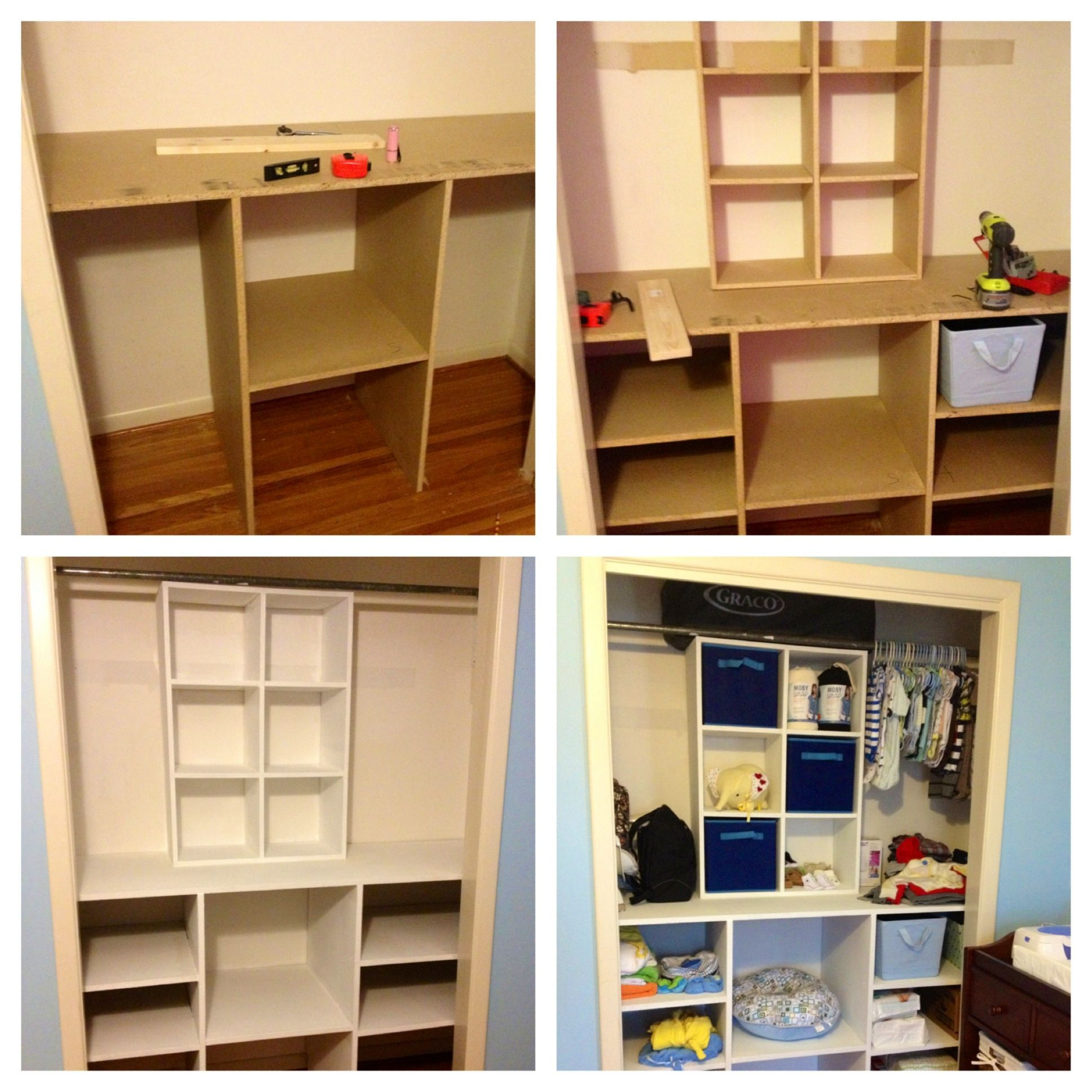Best ideas about DIY Bedroom Organizers . Save or Pin DIY Baby Closet Organizer DIY closetorganizer Now.