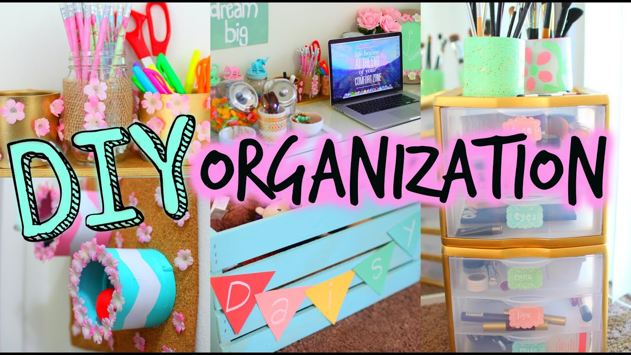 Best ideas about DIY Bedroom Organizers . Save or Pin DIY Spring Organization Room Decor Get Organized For Now.