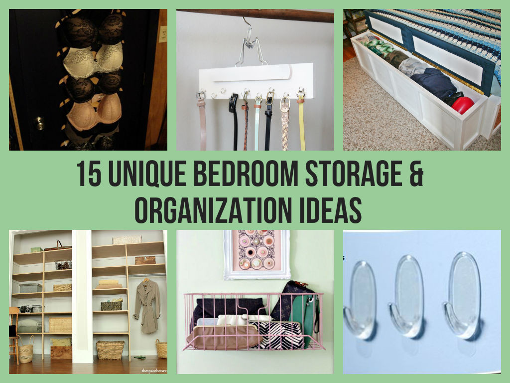 Best ideas about DIY Bedroom Organizers . Save or Pin 15 Unique Bedroom Storage & Organization Ideas Now.