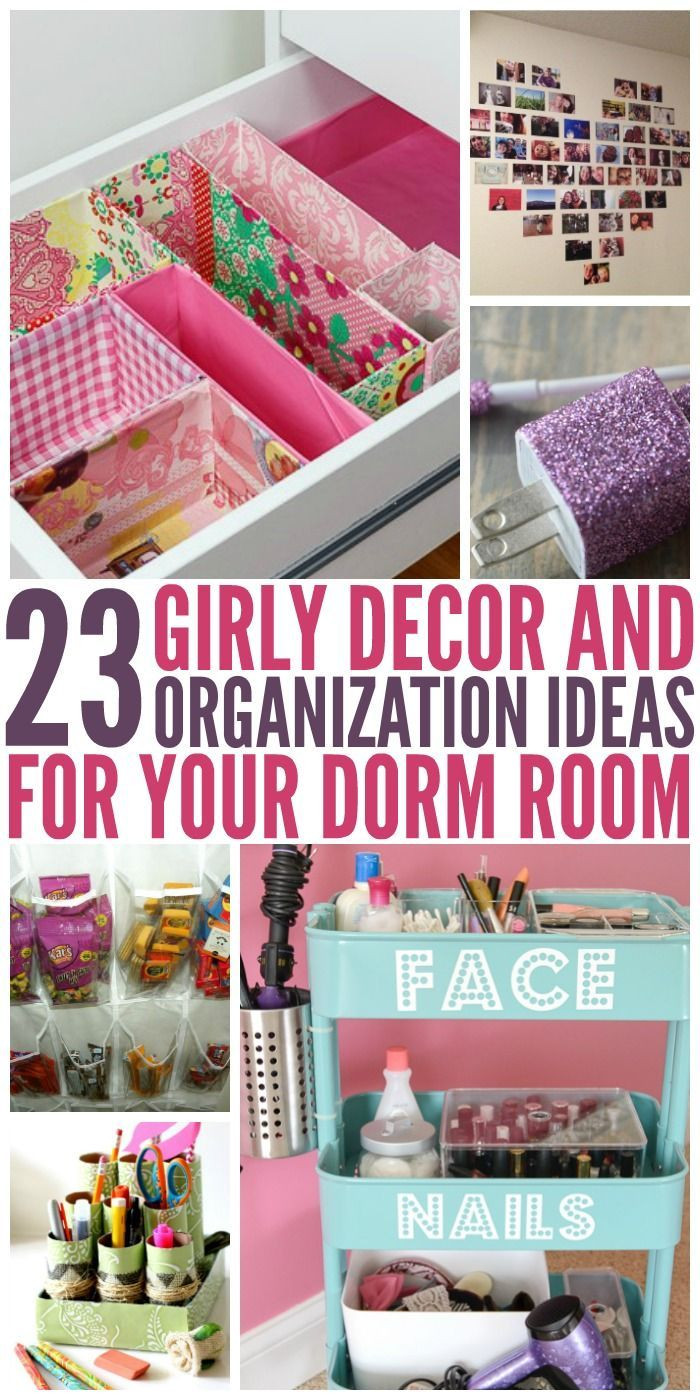 Best ideas about DIY Bedroom Organizers . Save or Pin 23 Dorm Room Decor and Organization Ideas Now.
