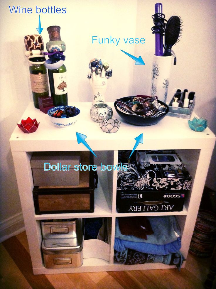 Best ideas about DIY Bedroom Organizers . Save or Pin Bedroom DIY organization with recycled and dollar store Now.