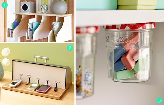 Best ideas about DIY Bedroom Organizers . Save or Pin Roundup 15 DIY fice Storage and Organization Ideas Now.