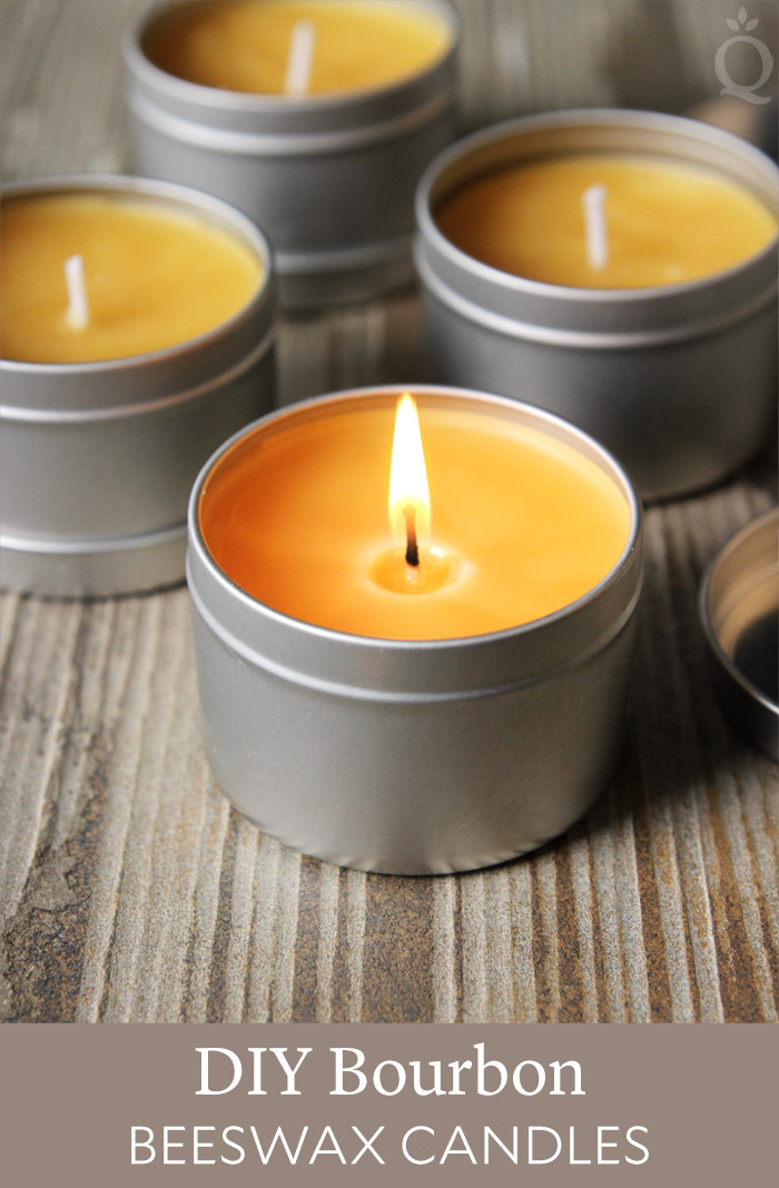 Best ideas about DIY Beeswax Candles . Save or Pin DIY Bourbon & Beeswax Candles Soap Queen Now.