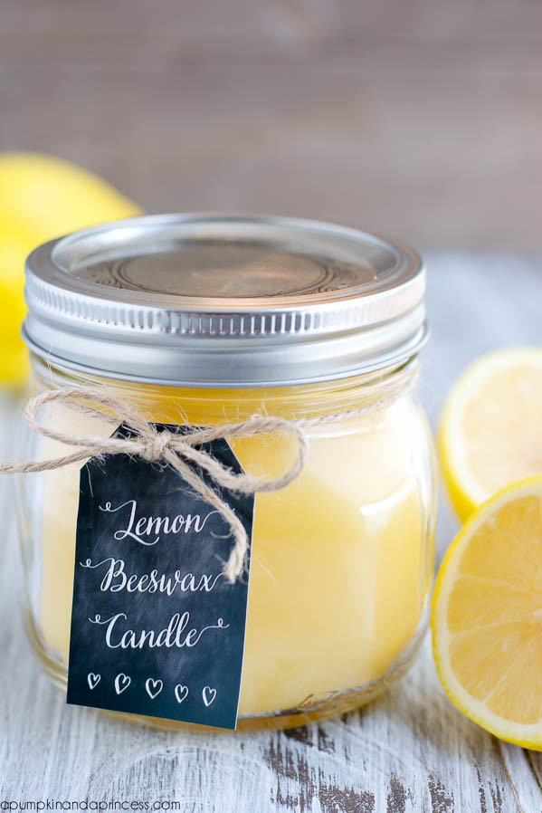 Best ideas about DIY Beeswax Candles . Save or Pin DIY Lemon Beeswax Candle A Pumpkin And A Princess Now.
