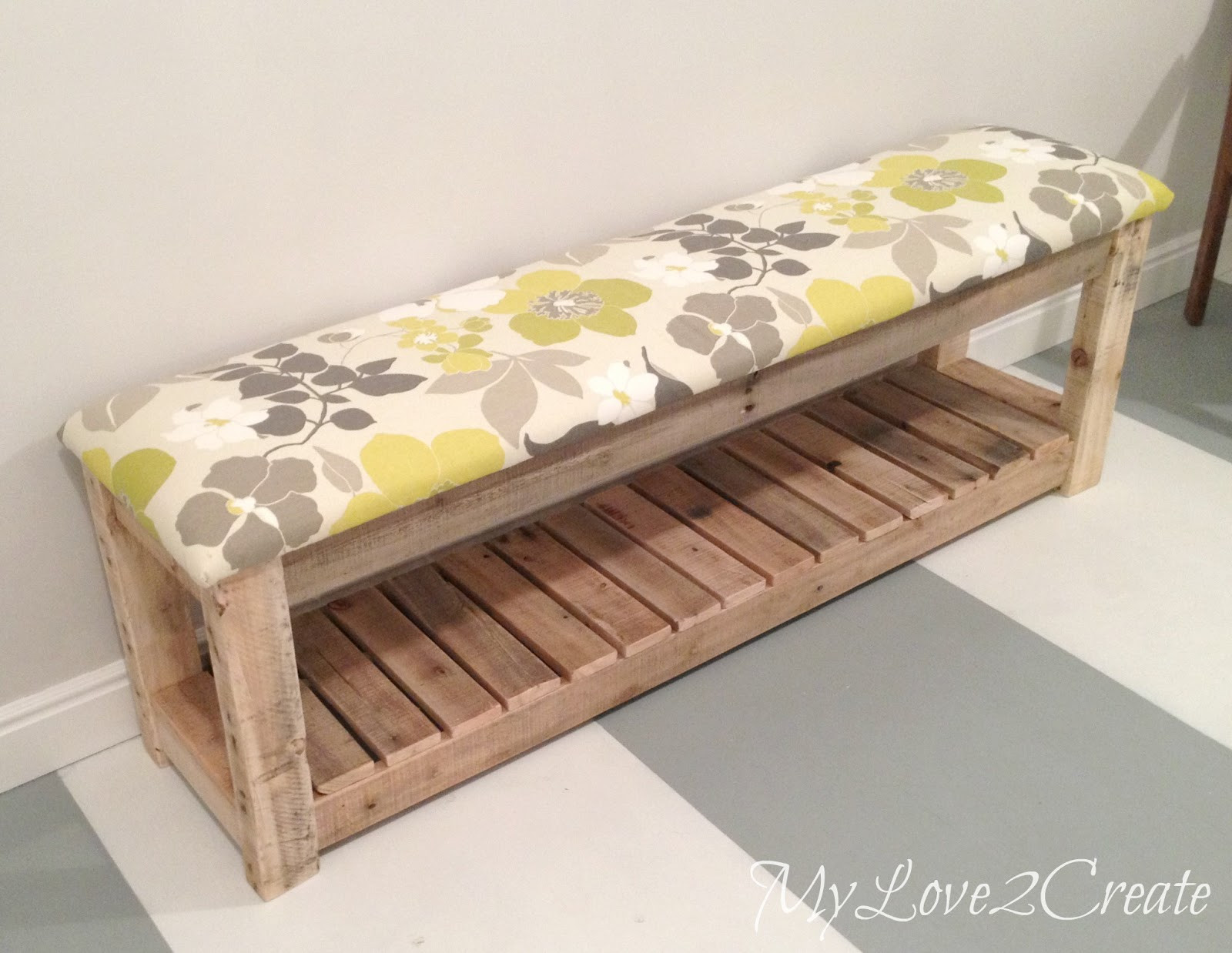 Best ideas about DIY Bench Seating . Save or Pin DIY Upholstered Bench Now.