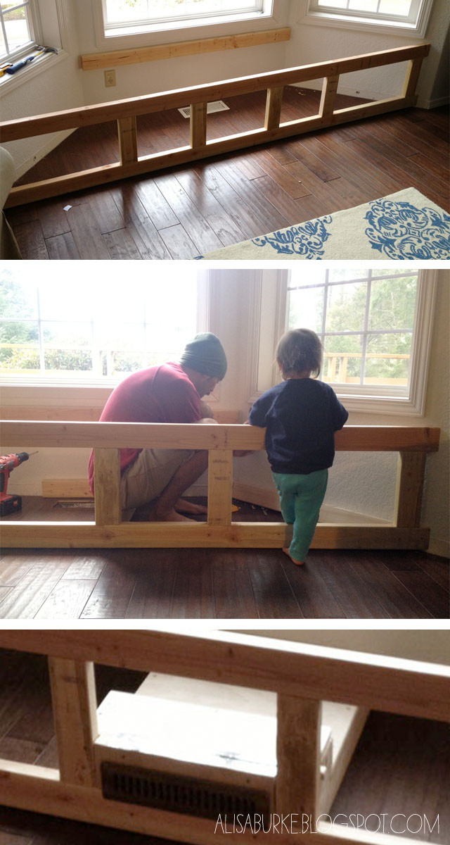 Best ideas about DIY Bench Seating . Save or Pin alisaburke DIY window seat Now.