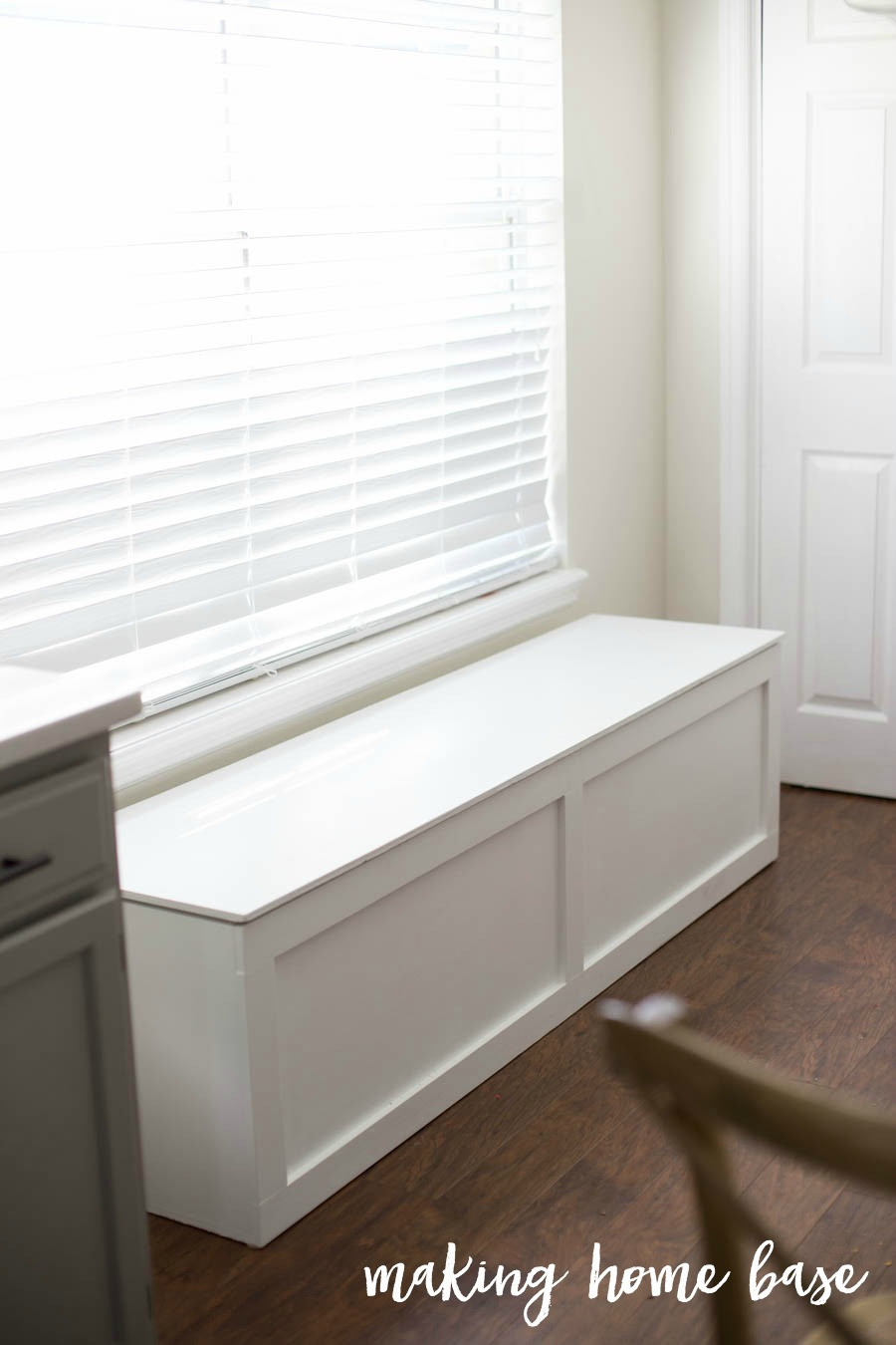 Best ideas about DIY Bench Seating . Save or Pin How to Build a Window Seat with Storage DIY Tutorial Now.