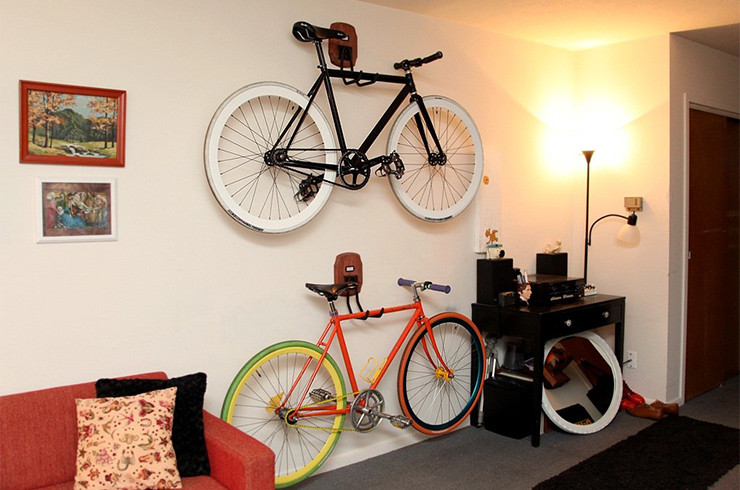 Best ideas about DIY Bicycle Wall Mount . Save or Pin Bike Storage Ideas 30 Creative Ways of Storing Bike Now.