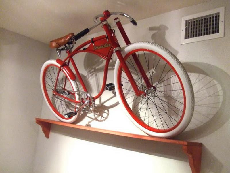 Best ideas about DIY Bicycle Wall Mount . Save or Pin Diy Bike Stand Tags Simple Design for Wall Mounted Bike Now.