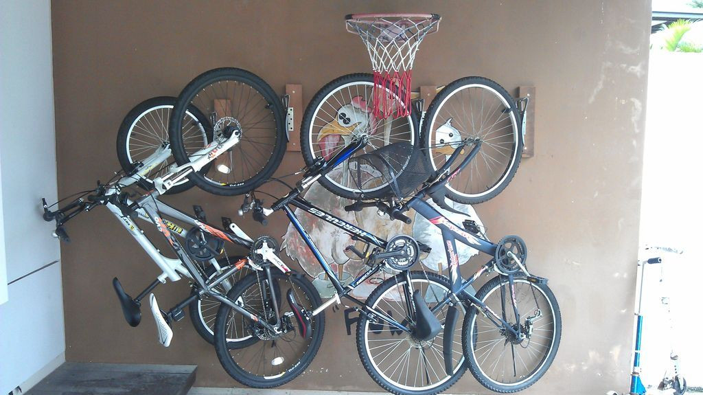 Best ideas about DIY Bicycle Wall Mount . Save or Pin Homemade Bicycle Wall Mount Home Now.