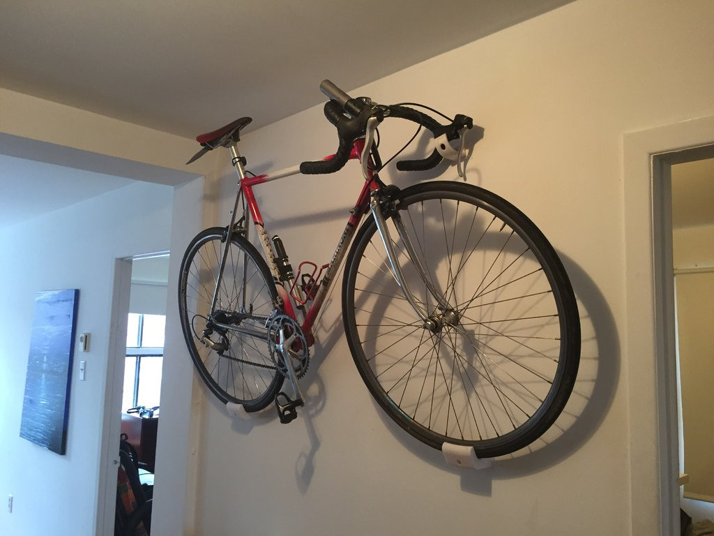 Best ideas about DIY Bicycle Wall Mount . Save or Pin Road bike wall mount 3DThursday 3DPrinting Adafruit Now.
