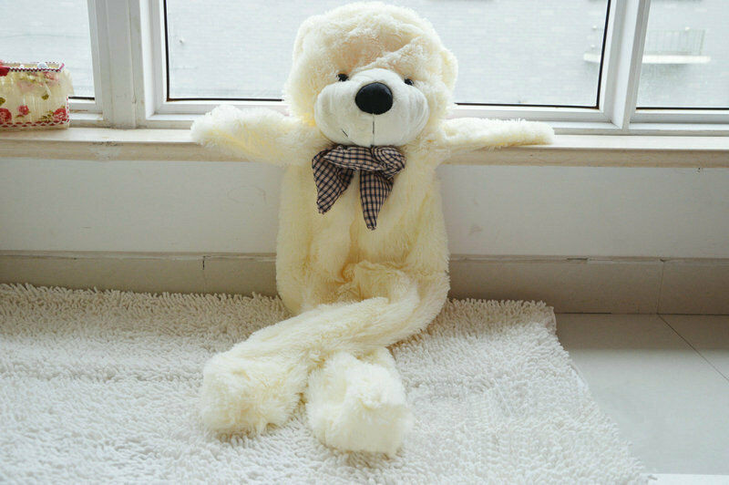 Best ideas about DIY Big Bear . Save or Pin 5 9Ft 1 8M White Giant Skin Teddy Bear Big Unfilled Plush Now.