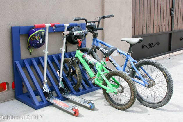 Best ideas about DIY Bike Racks . Save or Pin DIY Backyard Ideas for Kids The Idea Room Now.