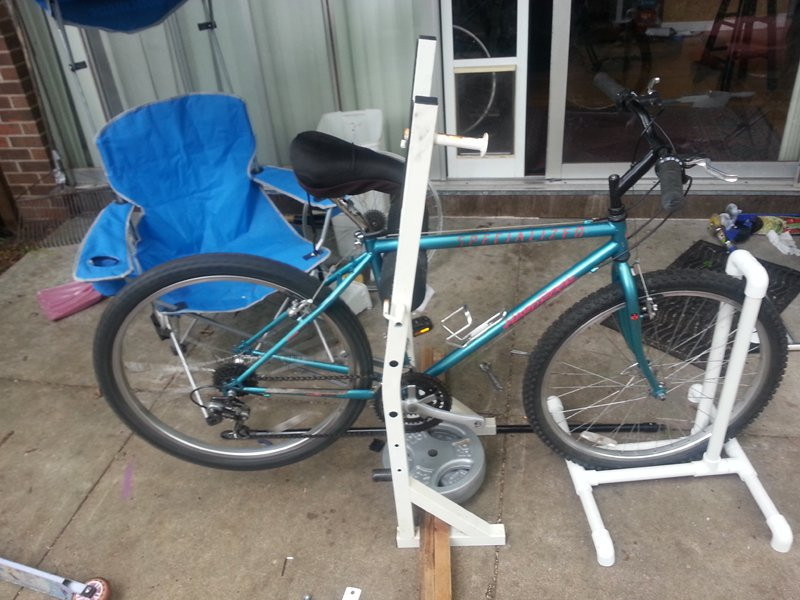 Best ideas about DIY Bike Stand . Save or Pin Bike repair stand DIY Mtbr Now.