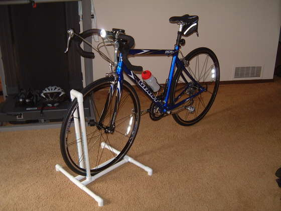 Best ideas about DIY Bike Stand . Save or Pin DIY PVC Bike Stand Rack Half TRI ing Now.