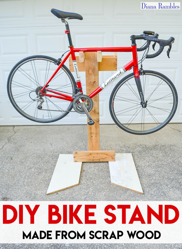 Best ideas about DIY Bike Stand . Save or Pin DIY Bicycle Repair Stand from Scrap Wood Tutorial Now.