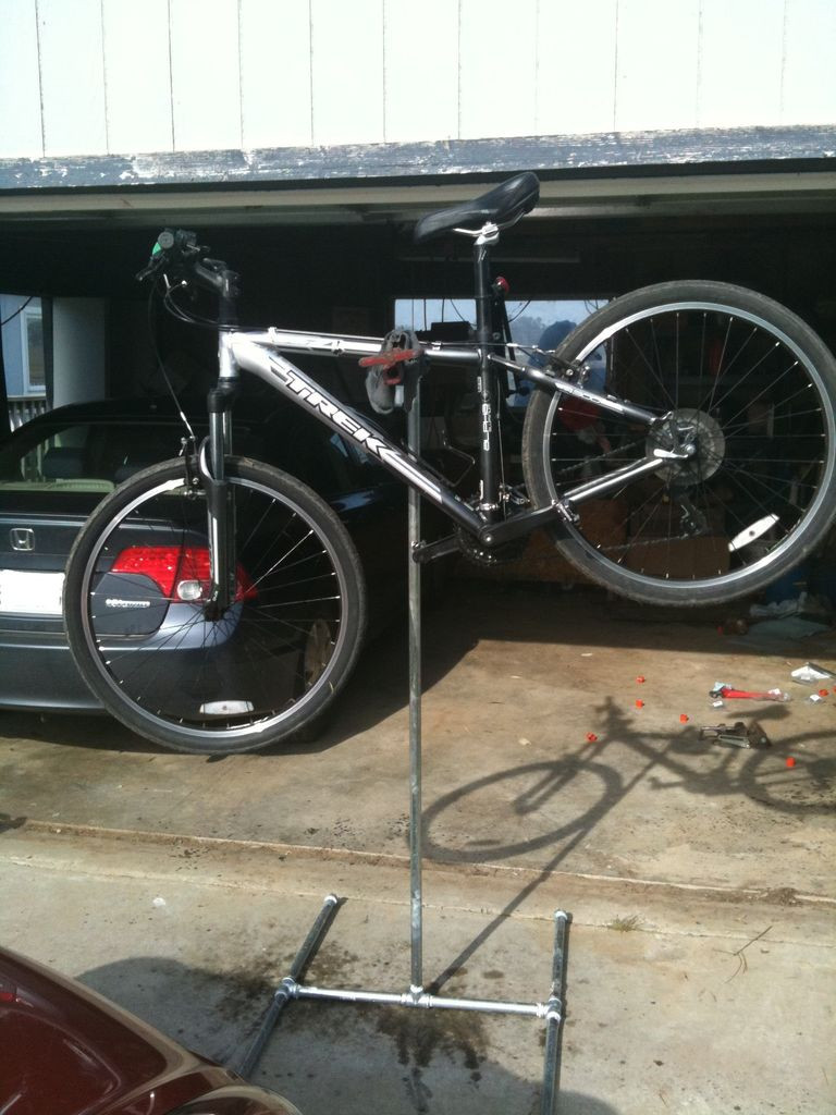 Best ideas about DIY Bike Stand . Save or Pin DIY Bicycle Repair Stand Now.