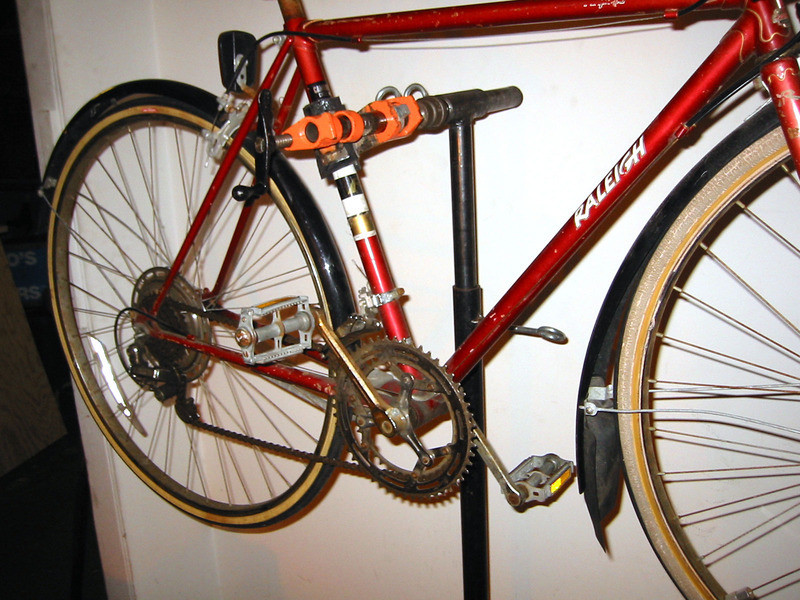 Best ideas about DIY Bike Stand . Save or Pin Overview DIY Welded Bike Stand Now.