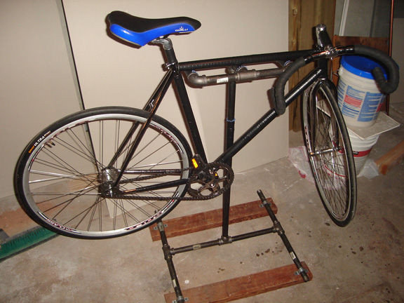 Best ideas about DIY Bike Stand . Save or Pin DIY Home Bicycle Repair Stand 10 Steps with Now.